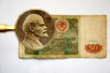 Free Old Cash Russian Ruble Stock Image - 720921