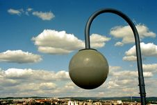 Free Lamp In Clouds Royalty Free Stock Photo - 721015