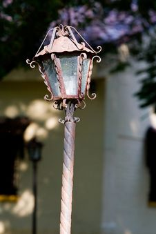 Free Rustic Lamp Stock Photo - 721310