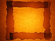 Old Paper Background With Frame Royalty Free Stock Photography