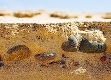 Free Stones And Sand Stock Images - 722544
