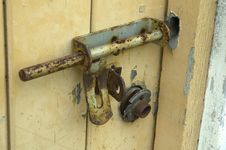 Free Old Metal Lock Stock Photos - 722613