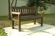 Free Wooden Bench Royalty Free Stock Images - 722619