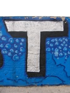 Free Graffiti Stock Images - 722844