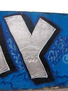 Free Graffiti Royalty Free Stock Image - 722846