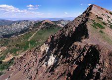 Free Summer Mountains At Snowbird Ski Resort Royalty Free Stock Photography - 723017