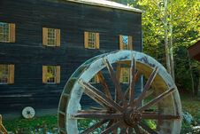 Free Grist Mill Spare Royalty Free Stock Photo - 723355