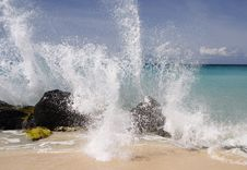 Free Caribbean Splash Stock Images - 723404