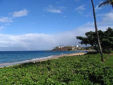 Free Kaanapali Beach Stock Image - 724731