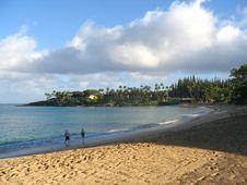 Free Morning On Napili Beach Stock Images - 724754