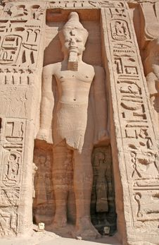 Free Temple Of Abu Simbel Royalty Free Stock Photography - 724937