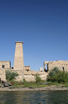 Free Temple Of Philae Stock Images - 725654