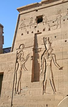 Free Temple Of Philae Royalty Free Stock Image - 725666