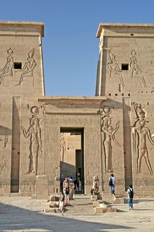 Free Temple Of Philae Stock Image - 725681