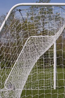 Free Soccer Net Royalty Free Stock Photography - 725867
