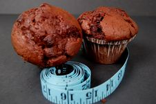 Free Muffin Diet Royalty Free Stock Photos - 726228