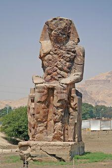 Free Colossi Of Memnon Stock Image - 726831