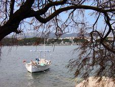 Free Boat In Porto Colom Stock Photography - 726992