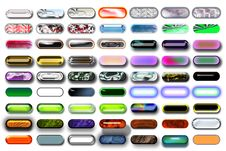 Free Illustration Buttons 11 Stock Photo - 727280