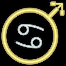 Free Zodiac Cancer 004 Royalty Free Stock Photography - 728057