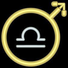 Free Zodiac Libra 004 Royalty Free Stock Image - 728096