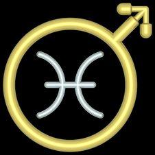 Free Zodiac Pisces 004 Stock Image - 728101