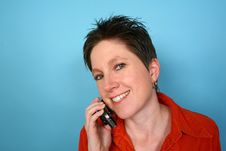 Free Woman On Phone Royalty Free Stock Image - 729836
