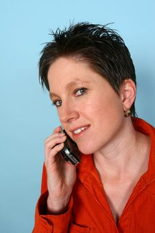 Free Woman On Phone Stock Photos - 729843