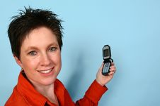 Free Woman On Phone Royalty Free Stock Photos - 729848