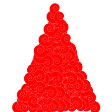 Free Abstract Christmas Tree Royalty Free Stock Image - 7217966