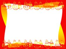 Free Christmas Frame Royalty Free Stock Photography - 7226447