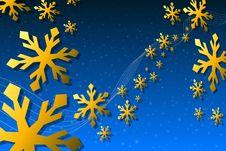 Christmas Snowflake Decoration Stock Photos