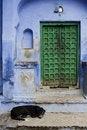 Free Green Doorway Stock Image - 7280031