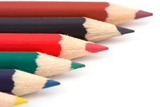 Free Colorful Pencils Stock Photos - 7295023