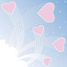 Valentine Day Background Royalty Free Stock Photo