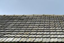 Free Tile On A Roof Stock Image - 7299601