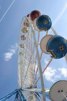 Free Ferris Wheel Royalty Free Stock Image - 731916