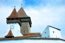 Fortified Church Royalty Free Stock Photography
