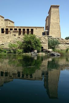 Free Philae Reflections Stock Photo - 732210