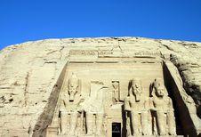 Free Abu Simbel Royalty Free Stock Photos - 732348