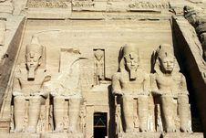 Free Abu Simbel Stock Images - 732354