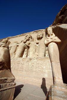 Free Abu Simbel Stock Photography - 732372