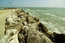 Free Romanian Black Sea Royalty Free Stock Photos - 732418