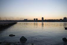 Free Sunset On Hudson Royalty Free Stock Photography - 732477