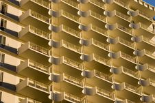 Free Sunrise Balconies Royalty Free Stock Photo - 733035
