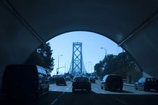 Free Bridge Tunnel Royalty Free Stock Photos - 733138