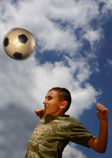 Free Football1 Royalty Free Stock Image - 733266