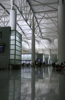 Free Night Airport 1 Stock Photography - 733462