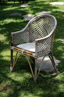 Free Garden Chair Royalty Free Stock Photos - 733478