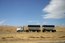 Truck Transport Royalty Free Stock Image